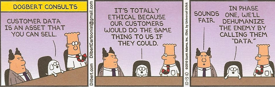 Dilbert on Privacy